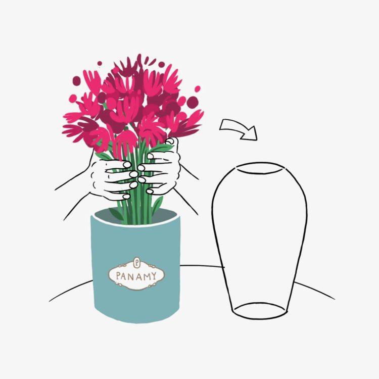 Blume Pflege - Select a Vase - Blumenversand Schweiz, Zürich, Bern, Basel, Luzern, St Gallen