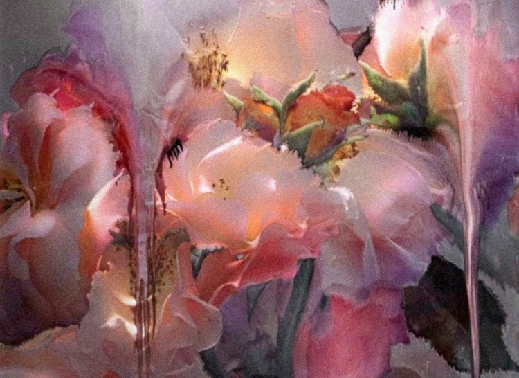 Nick Knight - Melting Flowers Four - PANAMY Flower Delivery Switzerland