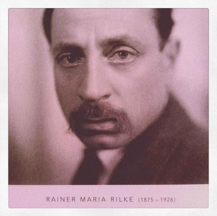 Rainer Maria Rilke - Portrait - The Movement - PANAMY - Florist Geneva Switzerland
