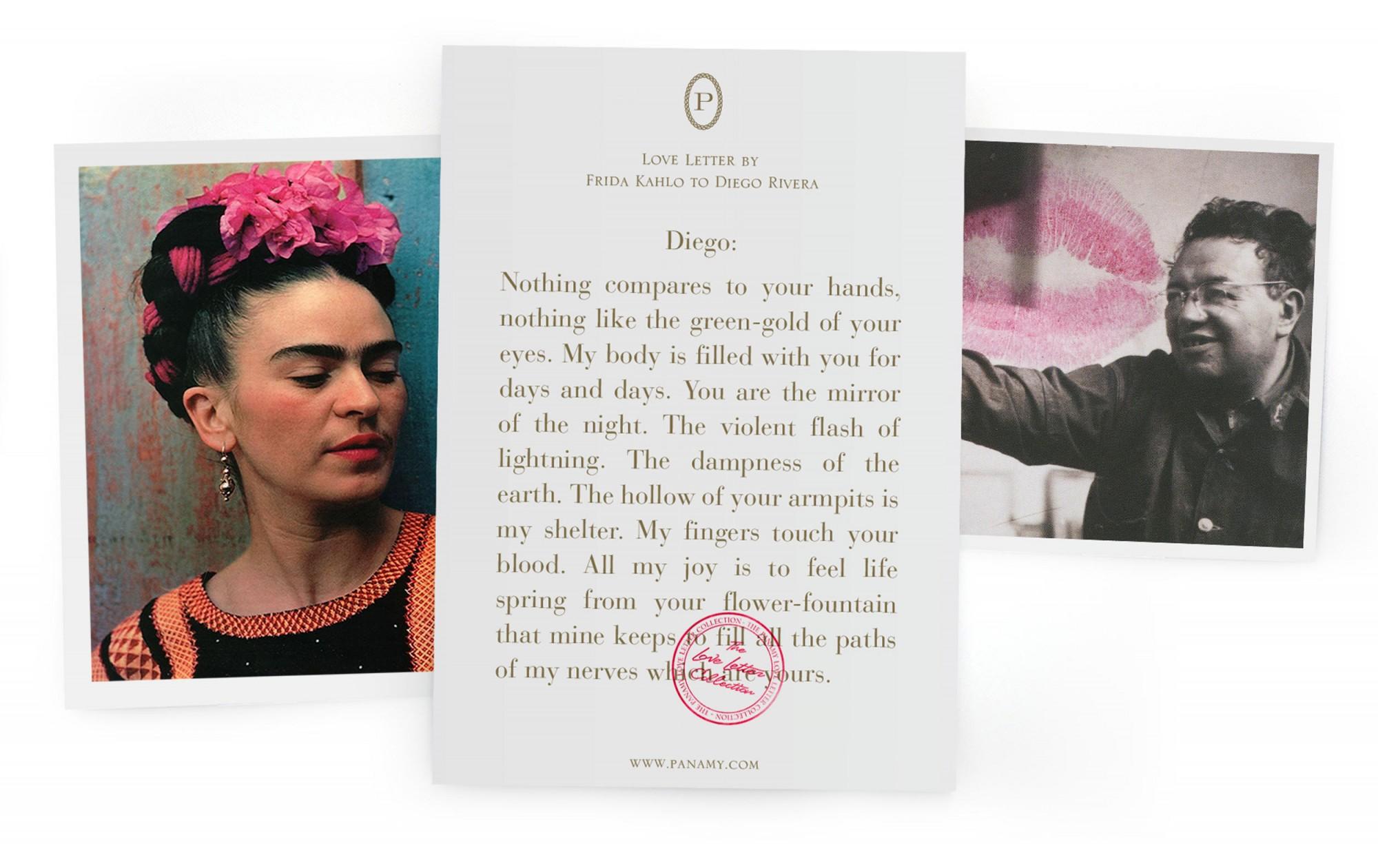 Frida Kahlo & Diego Rivera - Der Valentins Tag Führer - PANAMY Blumen versenden in der Schweiz, Lieferung in Zürich, Basel, Bern, St Gallen, Zug
