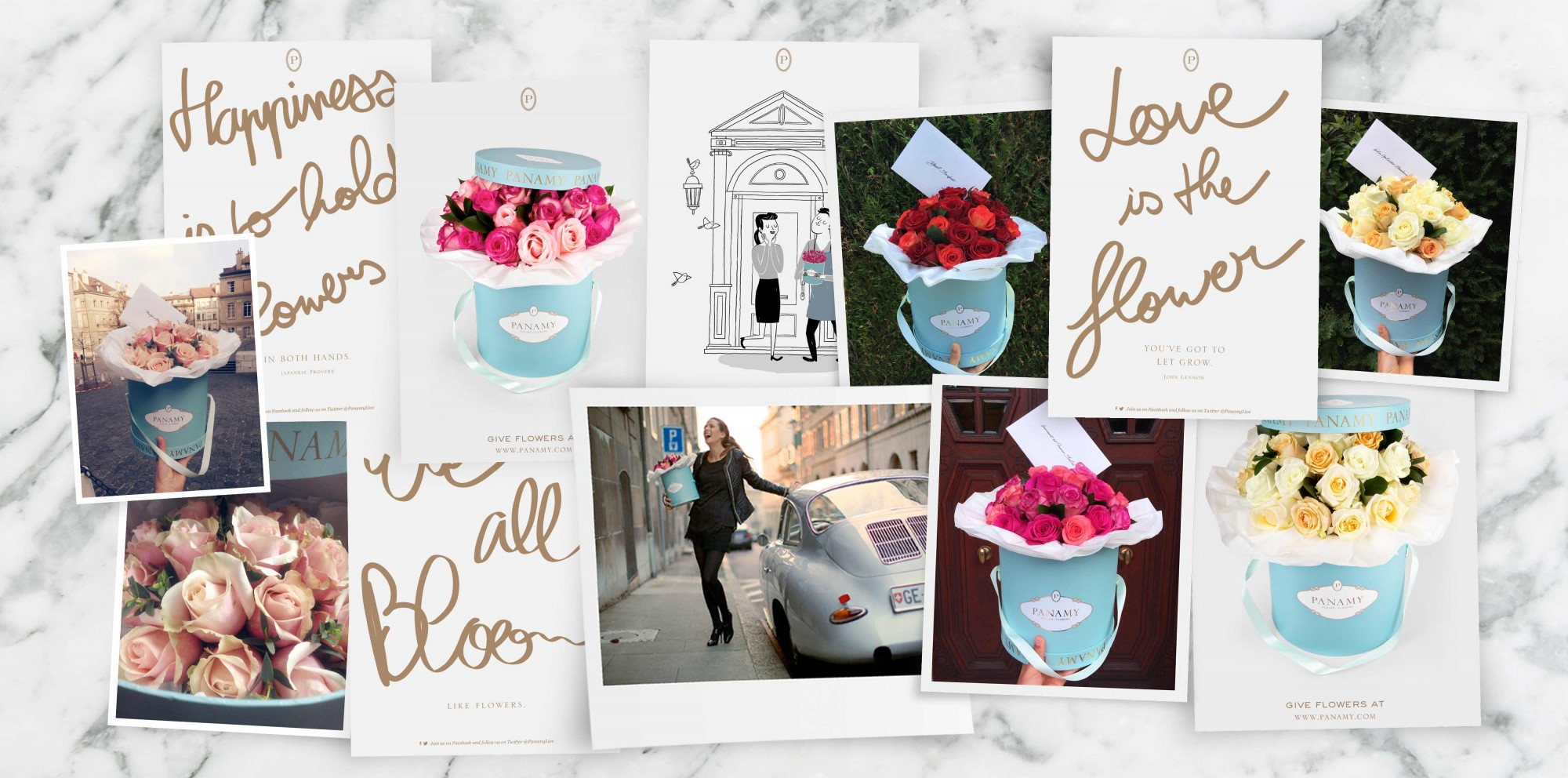 Offrir des fleurs - PANAMY Livraison des Fleurs en Suisse, Geneve, Zürich, Bale