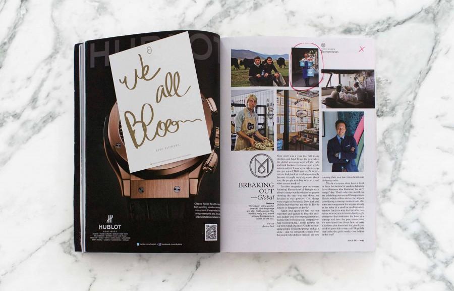 PANAMY dans le numéro de septembre de Monocle - Foto 3 - Livraison Fleurs en Suisse - PANAMY Geneve, Lausanne, Bale, Zürich, Sion, Montreux, Fribourg