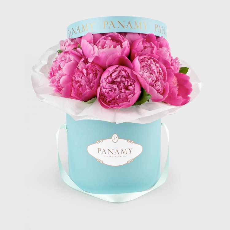 Il Positano - Peonie Flower Bouquet - Spring/Summer Collection - PANAMY Flower Delivery in Switzerland, Geneva, Zürich, Basel