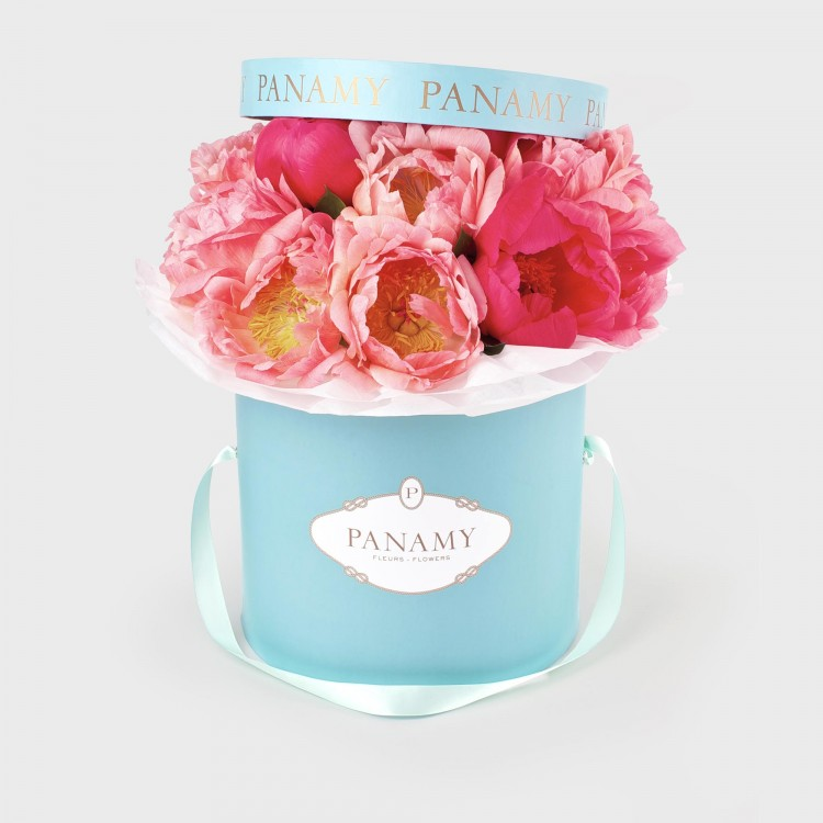 L Amalfi - Peonie Flower Bouquet - Spring/Summer Collection - PANAMY Flower Delivery in Switzerland, Geneva, Zürich, Basel