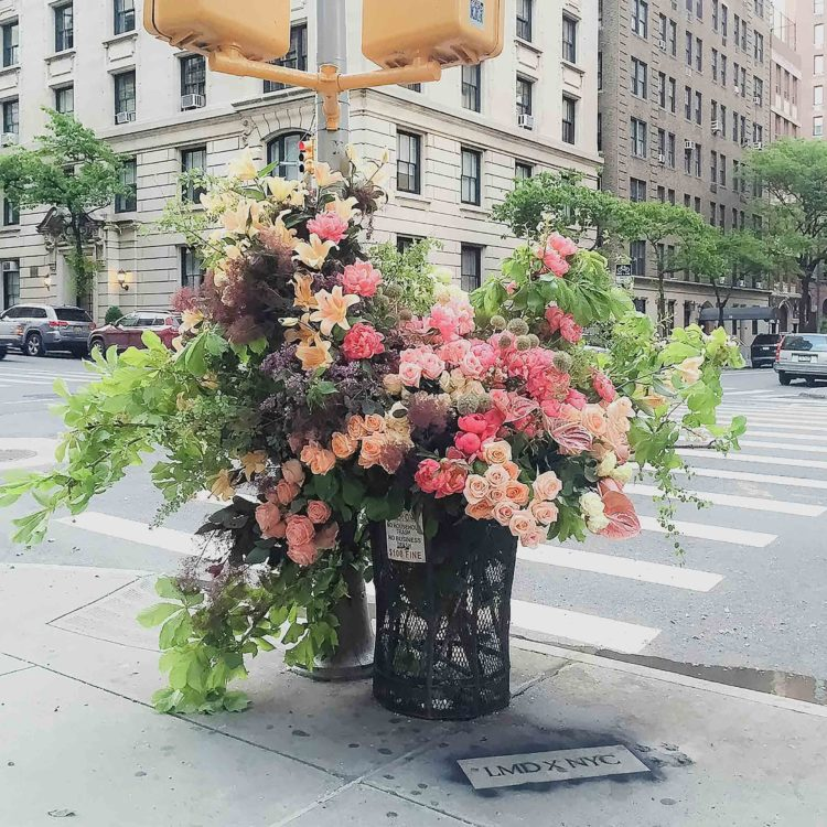Lewis Miller's magnificent oversized flower bouquets and greenery 1 - PANAMY Flower Delivery