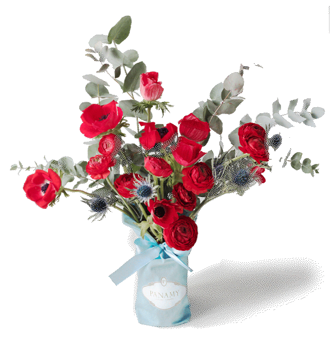 Bouquet Il Rubicondo - Send Flowers to Switzerland - PANAMY Flowers