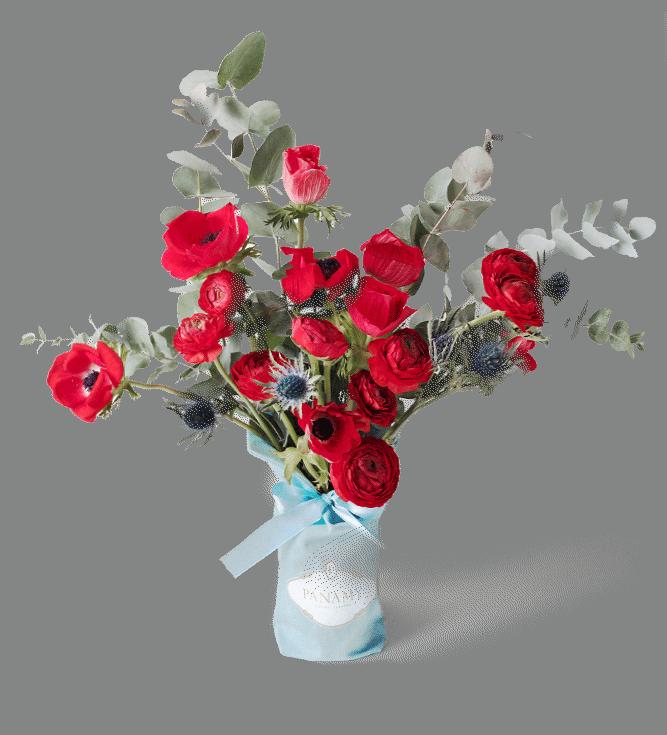 Le Bouquet il Rubicondo, Livraison Fleurs Geneve, Lausanne, Bern, Bale - PANAMY Saint Valentin