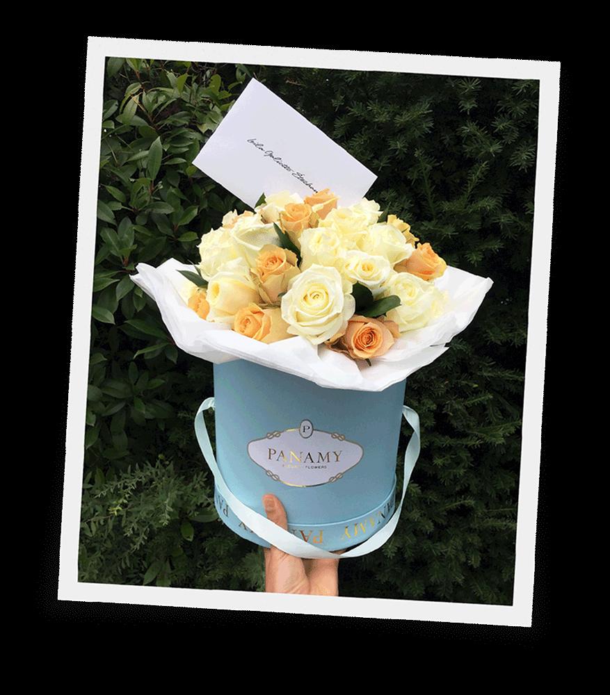 Rosenbox Schweiz - Das Candido Bouquet - PANAMY