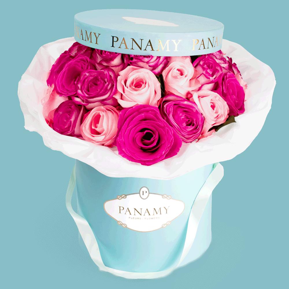 Flower Delivery Basel - La Fontanella Flowerbox - Panamy Flowers - Mobile
