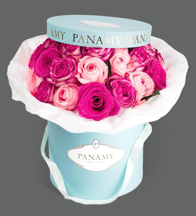 Die PANAMY Flowerbox senden in die gesamte Schweiz - Im Bild