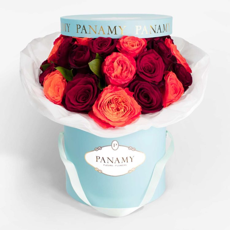 Il Rossolino - Flower Bouquet - Signature Collection - PANAMY Flower Delivery in Switzerland, Geneva, Zürich, Basel