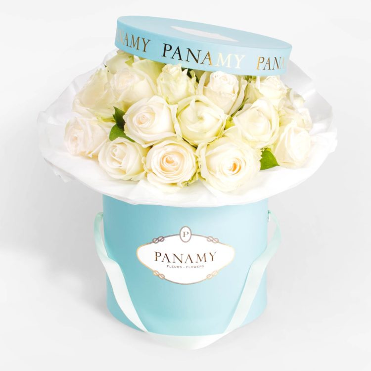 Il Bianchino - Flower Bouquet - Monochrome Collection - PANAMY Flower Delivery in Switzerland, Geneva, Zürich, Basel