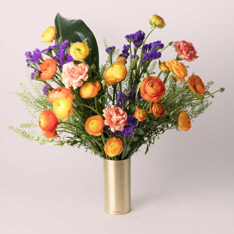 La Gioiella - with Vase - Bouquet - Flowerbag Collection - PANAMY Flowers Switzerland
